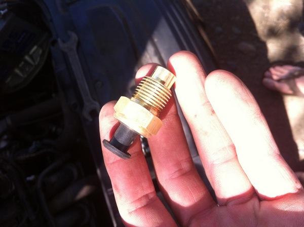 Инструкция по замене датчика указателя температуры двигателя Приора