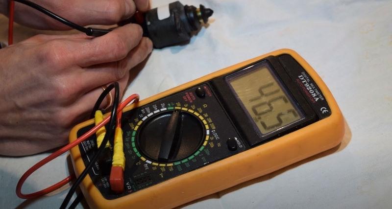 Измеряем сопротивление РХХ