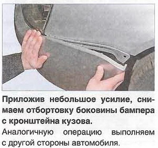 Инструкция по демонтажу