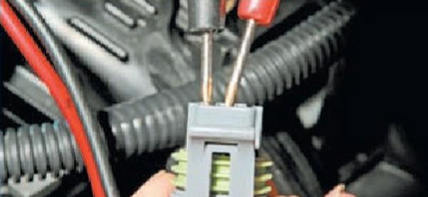Проверка цепи питания датчика фаз Приора